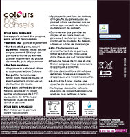 Peinture bois extérieur Colours blanc brillant 0,5L