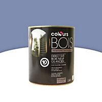 Peinture bois extérieur Colours bleu lavande satin 0,5L