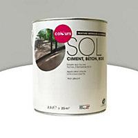 Peinture sol intérieur/extérieur Colours gris métal satin 2,5L