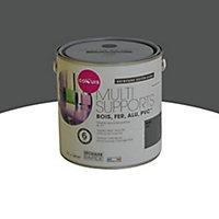 Peinture multi-supports extérieur Colours acier mat 2L