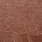 Pavé Ecaille terre de feu 20 x 15,8 cm, ép.4,2 cm