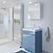 Meuble sous vasque à poser GoodHome Imandra bleu 60 cm + plan vasque Lana