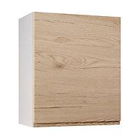 Meuble de cuisine Epura bois façade 1 porte + caisson haut L. 60 cm