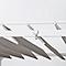 Tonnelle aluminum Blooma Beloye blanche 300 x 360cm