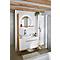 Ensemble de salle de bains à poser Adriska blanc 100 cm plan Ceara