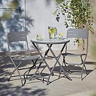 Salon de jardin Kythros Holi - Table + 2 chaises