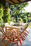 Salon de jardin Molara - Table + 6 chaises
