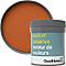 Testeur peinture murs et boiseries GoodHome orange Aravaca satin 50ml