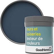 Testeur peinture murs et boiseries GoodHome bleu Vence satin 50ml