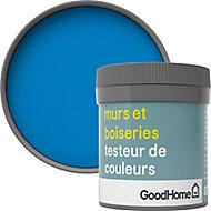 Testeur peinture murs et boiseries GoodHome bleu Menton satin 50ml