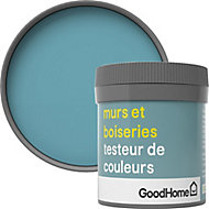 Testeur peinture murs et boiseries GoodHome bleu Nice satin 50ml