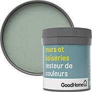 Testeur peinture murs et boiseries GoodHome vert Artane satin 50ml