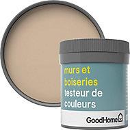 Testeur peinture murs et boiseries GoodHome beige Buenos Aires satin 50ml
