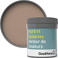 Testeur peinture murs et boiseries GoodHome beige Mendoza satin 50ml