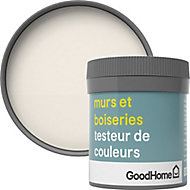 Testeur peinture murs et boiseries GoodHome blanc Ottawa satin 50ml