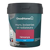Peinture résistante murs, boiseries et métal GoodHome rose Himonya mat 0,75L