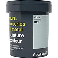 Peinture résistante murs, boiseries et métal GoodHome vert Clontarf mat 0,75L