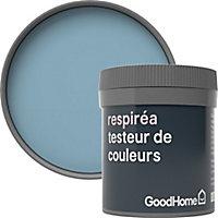 Testeur peinture Respiréa GoodHome bleu Monaco satin 50ml