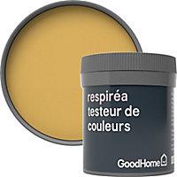 Testeur peinture Respiréa GoodHome jaune Chueca satin 50ml