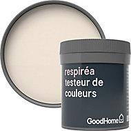 Testeur peinture Respiréa GoodHome blanc Juneau satin 50ml
