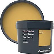 Peinture GoodHome Respiréa jaune Chueca satin 2,5L