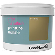 Peinture à effet métallisé GoodHome or Coachella 2L
