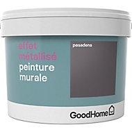 Peinture à effet métallisé GoodHome argent Pasadena 2L