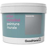 Peinture à effet métallisé GoodHome argent Beverly Hills 2L