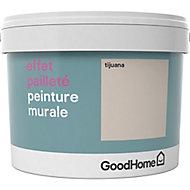 Peinture à effet paillettes GoodHome beige Tijuana 2L