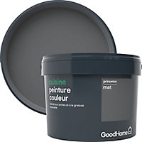 Peinture cuisine GoodHome gris Princeton mat 2,5L