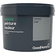 Peinture cuisine GoodHome gris Delaware mat 2,5L