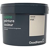 Peinture cuisine GoodHome beige Cancun mat 2,5L