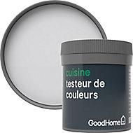 Testeur peinture cuisine GoodHome gris Whistler mat 50ml