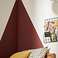 Peinture résistante murs, boiseries et métal GoodHome rouge Kensington satin 2,5L