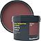 Peinture résistante murs, boiseries et métal GoodHome rouge Kensington mat 2,5L