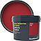 Peinture résistante murs, boiseries et métal GoodHome rouge Chelsea mat 2,5L