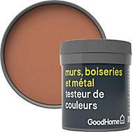 Testeur peinture résistante murs, boiseries et métal GoodHome rouge Pimlico mat 50ml