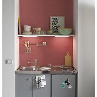 Peinture résistante murs, boiseries et métal GoodHome rouge Fulham satin 2,5L