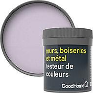 Testeur peinture résistante murs, boiseries et métal GoodHome violet Hokkaido mat 50ml