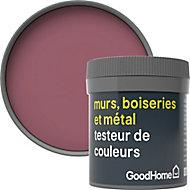 Testeur peinture résistante murs, boiseries et métal GoodHome violet Magome mat 50ml
