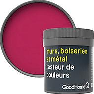 Testeur peinture résistante murs, boiseries et métal GoodHome rose Himonya mat 50ml