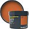 Peinture résistante murs, boiseries et métal GoodHome orange Aravaca satin 2,5L