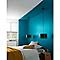 Peinture résistante murs, boiseries et métal GoodHome bleu Marseille satin 0,75L