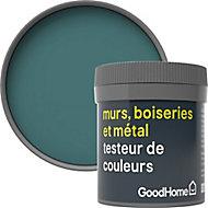 Testeur peinture résistante murs, boiseries et métal GoodHome vert Milltown mat 50ml