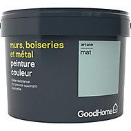 Peinture résistante murs, boiseries et métal GoodHome vert Artane mat 2,5L