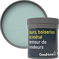Testeur peinture résistante murs, boiseries et métal GoodHome vert Artane mat 50ml