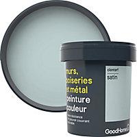 Peinture résistante murs, boiseries et métal GoodHome vert Clontarf satin 0,75L