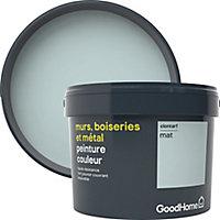 Peinture résistante murs, boiseries et métal GoodHome vert Clontarf mat 2,5L
