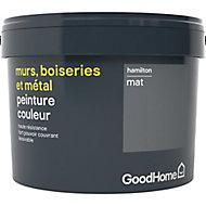 Peinture résistante murs, boiseries et métal GoodHome gris Hamilton mat 2,5L