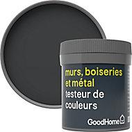 Testeur peinture résistante murs, boiseries et métal GoodHome noir Liberty mat 50ml